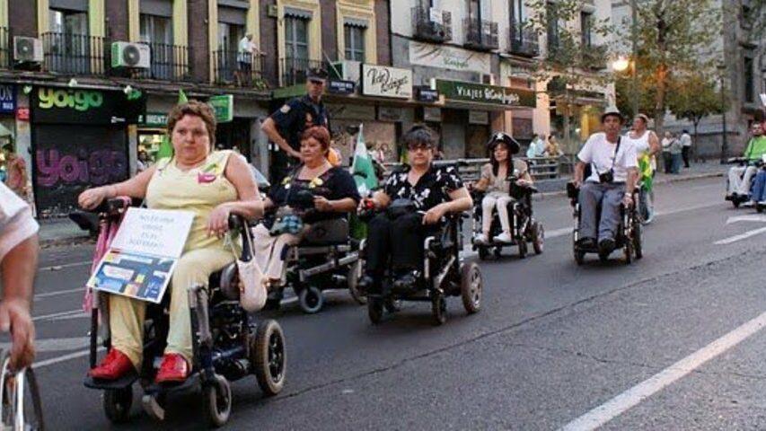 VI MARCHA POR LA VISIBILIDAD DE LAS PERSONAS CON DIVERSIDAD FUNCIONAL 2012