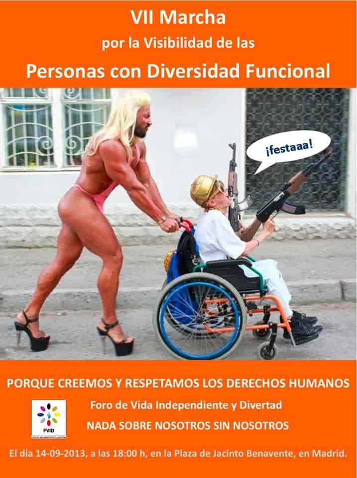 VII Marcha por la Visibilidad de las Personas con Diversidad Funcional