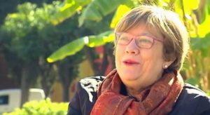 Gloria Lucena en el reportaje solidarios de canal sur
