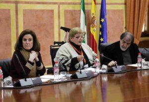 Políticas sociales sociales con Coral Hortal enn el parlamento andaluz