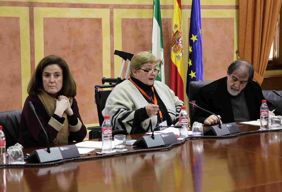 Asistencia personal en el Parlamento Andaluz