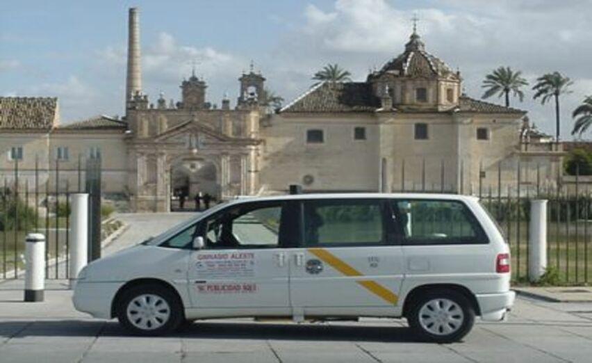 imagen de taxis adaptados en sevilla