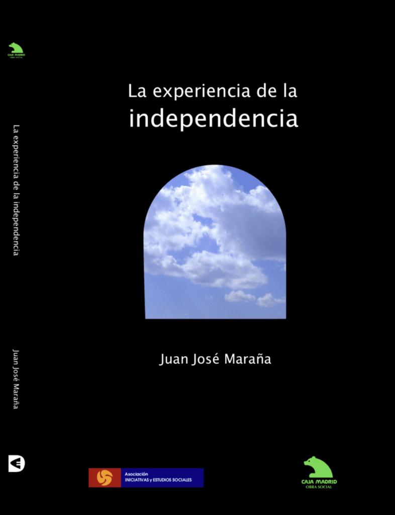 Portada del libro La experiencia de la independencia