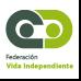 Imagen de logo de la web Federación de vida independiente